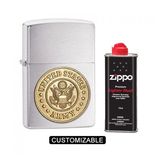 Zippo 280ARM REG Emblem - Army Lighter