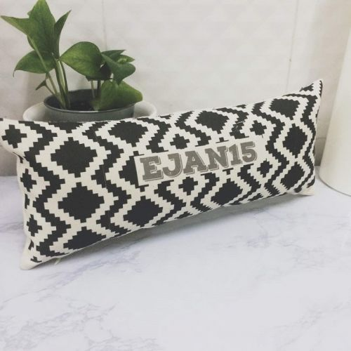 Personalized Tribal Pattern Long Pillow