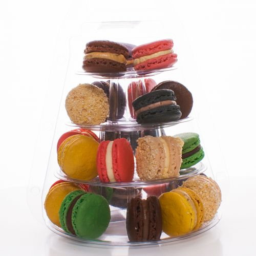 Macaron Tower of 25 Assorted Macarons