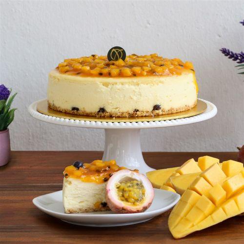 Mango & Passion Cheesecake