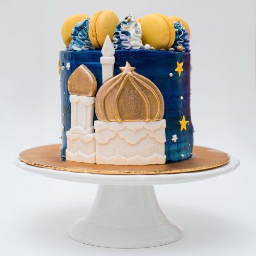 Mosque Designer Cake