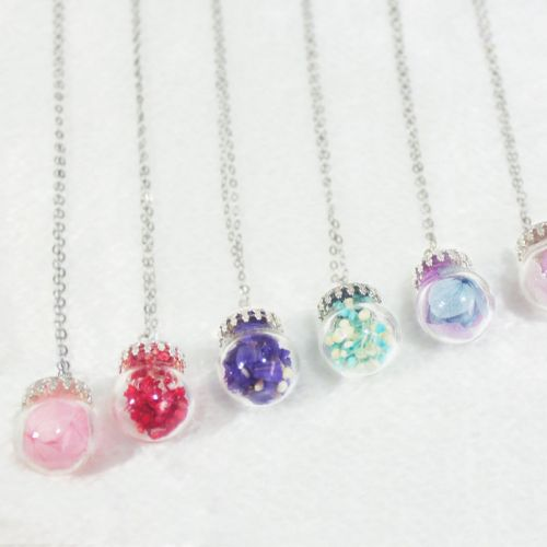 Dried Flower Series Necklace
