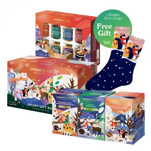 Amazin' Graze Holiday Indulgence Gift Set 770g