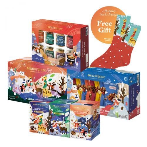 Amazin' Graze The Best Holiday Gift Set 1090g