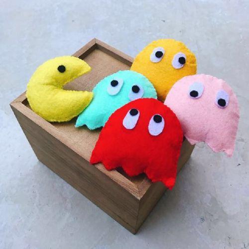 Handmade Pac Man Catnip
