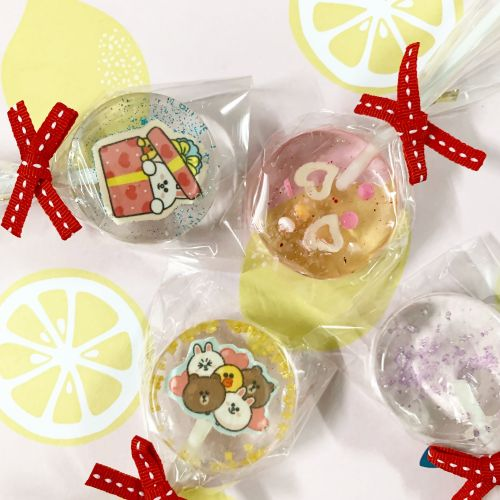 Customize lollipops candy
