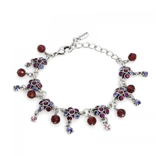 Multicolor and Checkerboard Crystal Bracelet