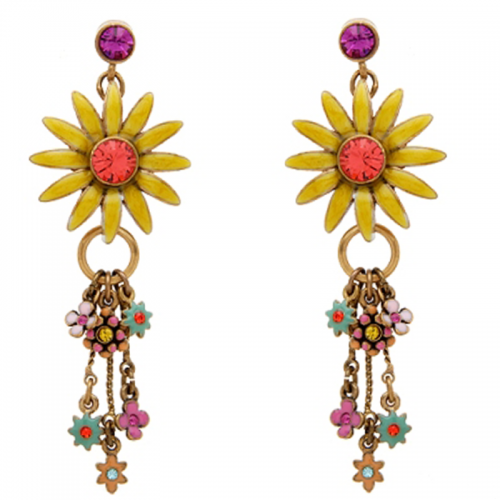 Multicolor Crystal Earring