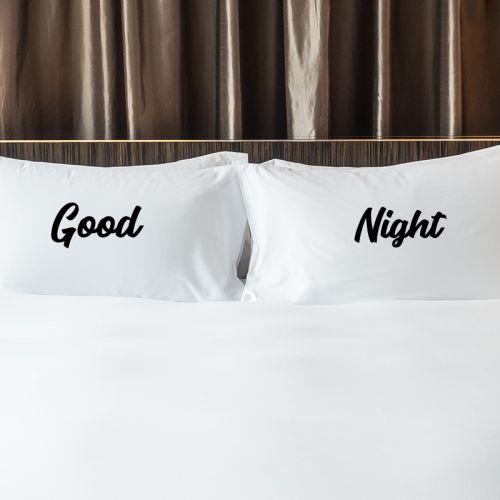Couple Pillow & Case - Words