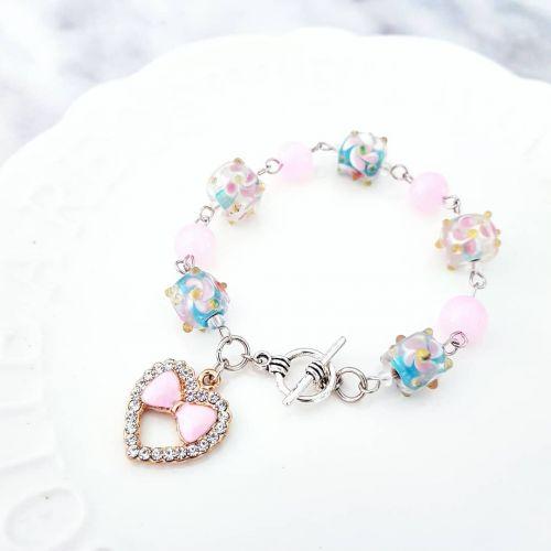 Pink Sakura Bracelet