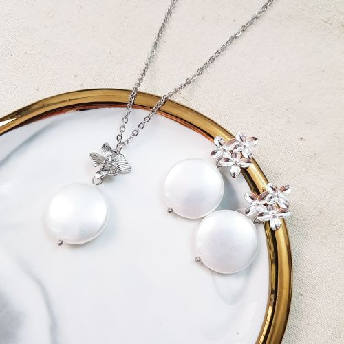 The Exquisite E (Necklace & Earring)