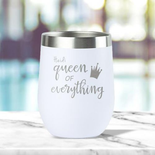 'Queen of Everything' Insulated Tumbler (12oz)