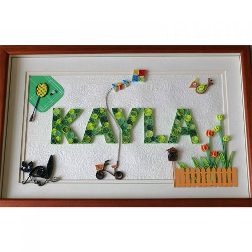 Children's Alphabets :  Personalised  Name Gifts