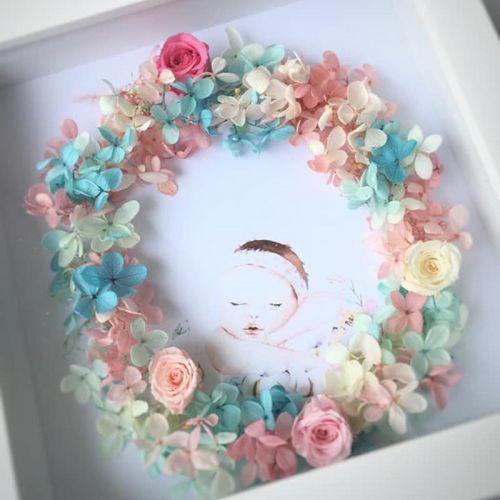 Preserved Flower Frame 0002 - Baby Darling
