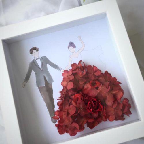 Preserved Flower Frame 0007 - Marry Me