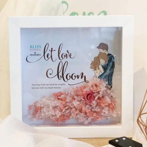 Preserved Flower Frame 0013 - Let's Love Bloom