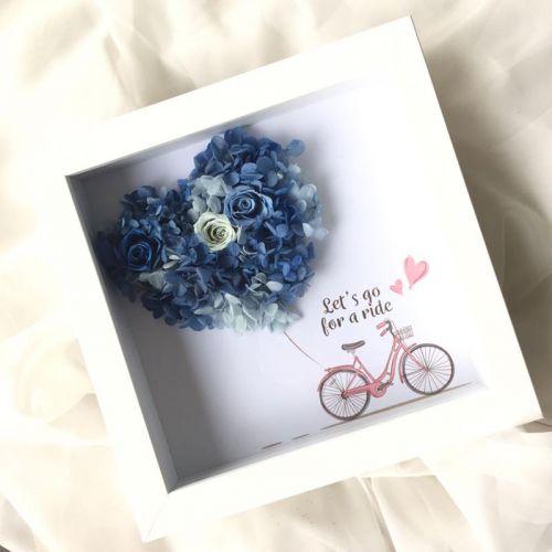 Preserved Flower Frame 0005 - Love Signs