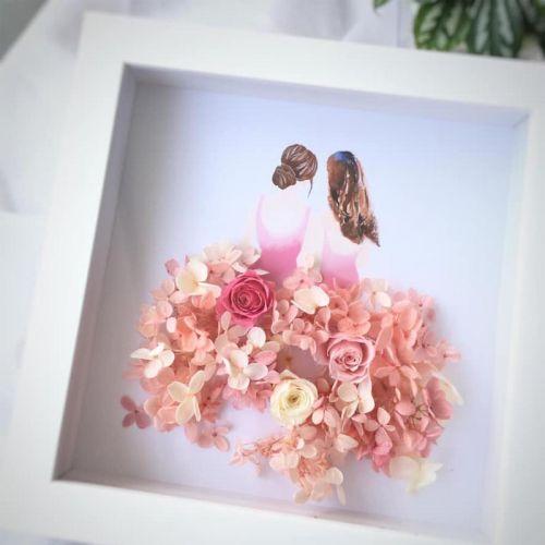 Preserved Flower Frame 0004 - Girls