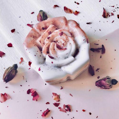 Rose Geranium Shea Butter Soap bar