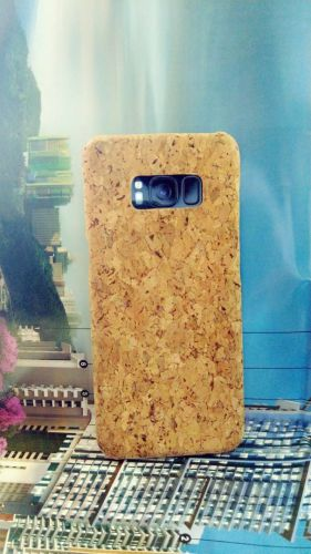 EcoQuote Samsung Galaxy S8 Plus Handmade Phone Case Hard PC Cork Finishing Vegan