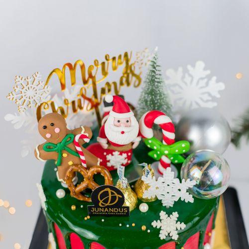 Santa Party Cake (Christmas Cake)
