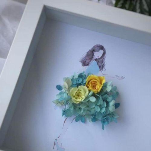 Preserved Flower Frame 0009 - Gorgeous