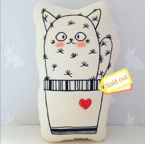 Cutie Cattus Plushy Pillow