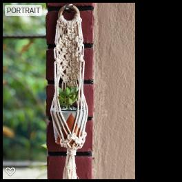 Handmade Macrame Twilight Mini Plant hanger