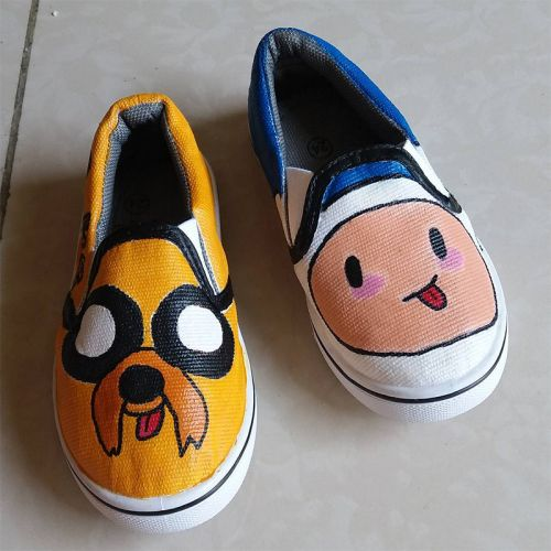 Kids Hand Painted Shoes