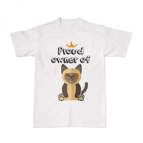 Proud Cat Owners Tee - Burmese