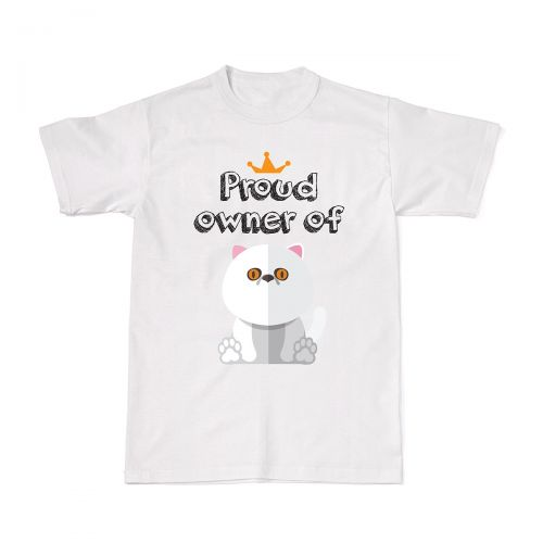 Proud Cat Owners Tee - Exotic Shorthair
