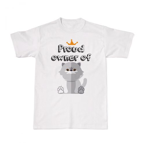 Proud Cat Owners Tee - Persian