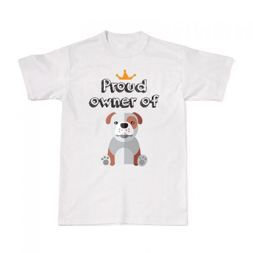 Proud Dog Owners Tee - Bulldog