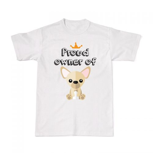 Proud Dog Owners Tee - Chihuahua