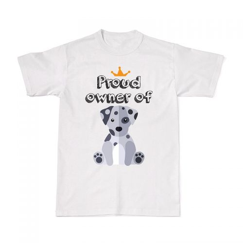 Proud Dog Owners Tee - Dalmatian