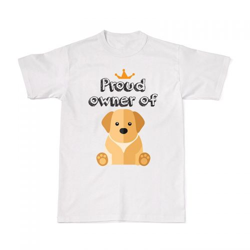 Proud Dog Owners Tee - Golden Retriever
