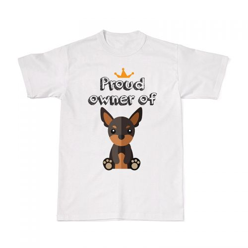 Proud Dog Owners Tee - Miniature Pinscher