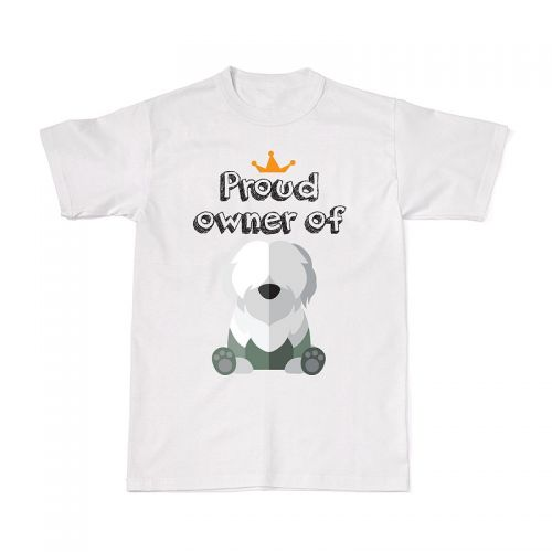 Proud Dog Owners Tee - Old English Sheepdog
