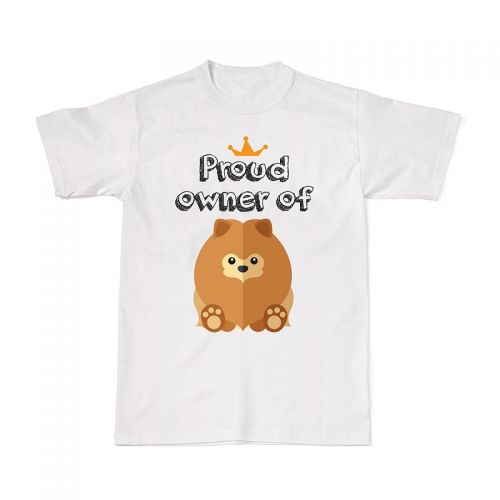 Proud Dog Owners Tee - Pomeranian