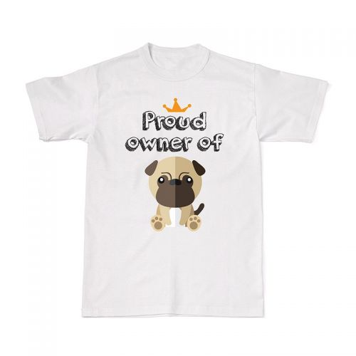 Proud Dog Owners Tee - Pug