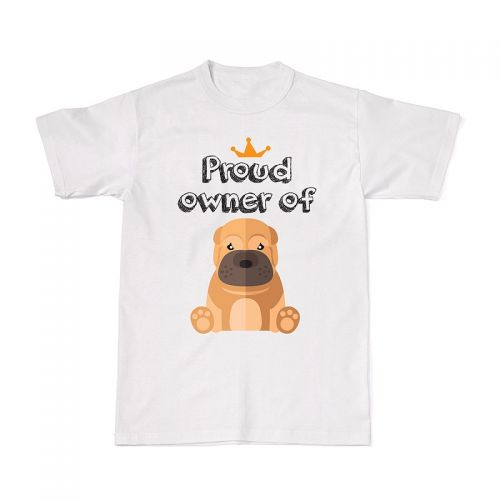 Proud Dog Owners Tee - Sharpei