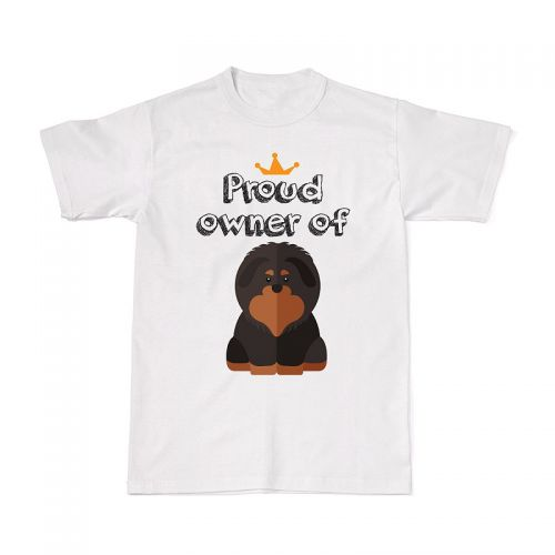 Proud Dog Owners Tee - Tibetan Mastiff