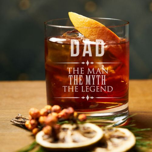 'The Legend' Personalized Rock Glass (Single) 10 OZ