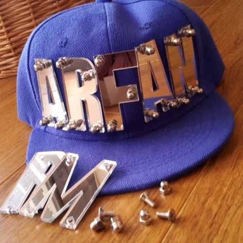 Name on Flat Cap ( Kids)  hiphop