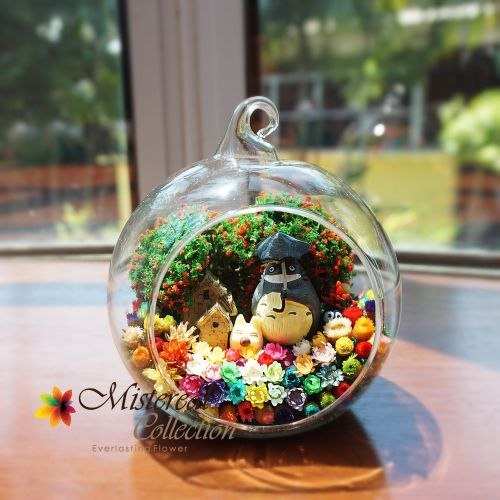 Totoro - Mistereal Preserved Flowers