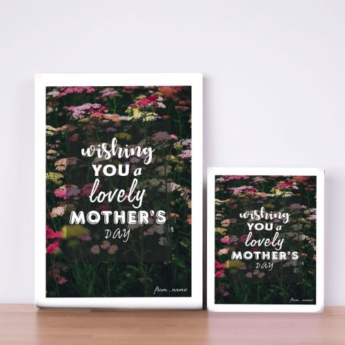 Wishing You A Lovely Mother's Day Canvas