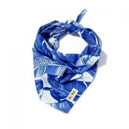 Jungle Blues Pet Bandana