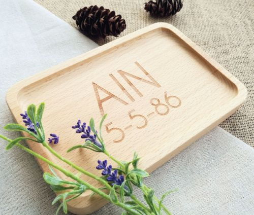 Personalized Food Tray
