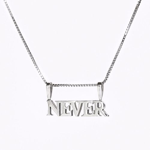Novel Charm Necklace - Personalised Own Name/ Word