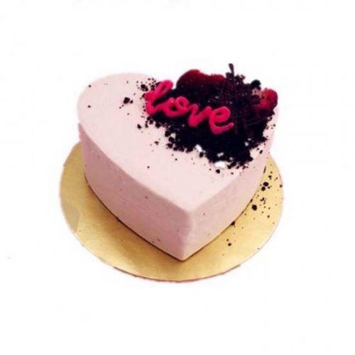 Strawberry Yogurt Ice Cream Cake